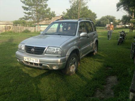 Suzuki Grand Vitara 2004 - отзыв владельца