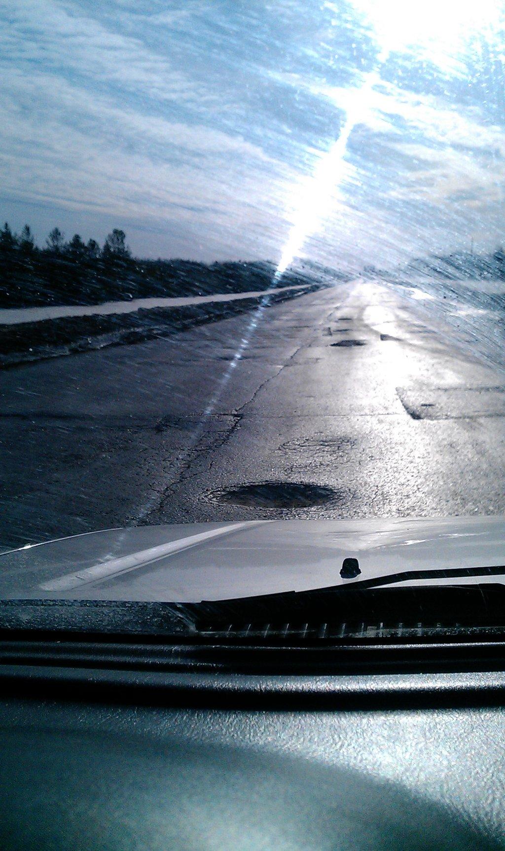 Дорога в Пыть-Ях-Тюмень, Уватский район