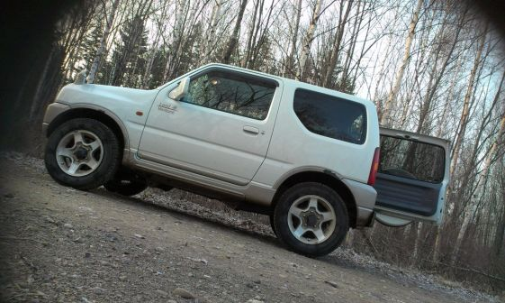 Suzuki Jimny 2001 - отзыв владельца