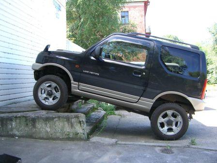 Suzuki Jimny 2004 - отзыв владельца