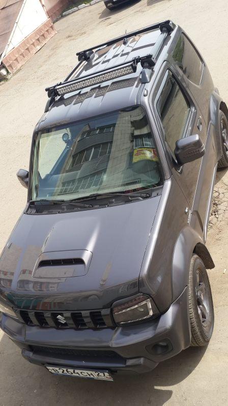 Suzuki Jimny 2013 - отзыв владельца