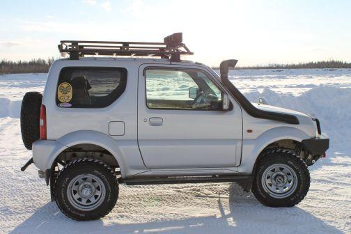Suzuki Jimny Sierra 2002 - отзыв владельца