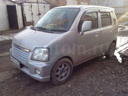 Suzuki Wagon R 2002 - отзыв владельца