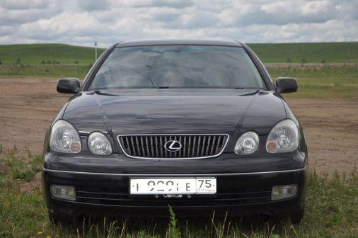 Toyota Aristo 2003 - отзыв владельца
