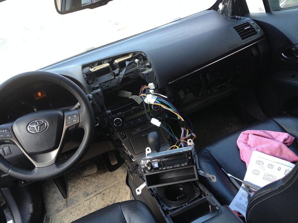 toyota avensis t27 1,6 коробка передач