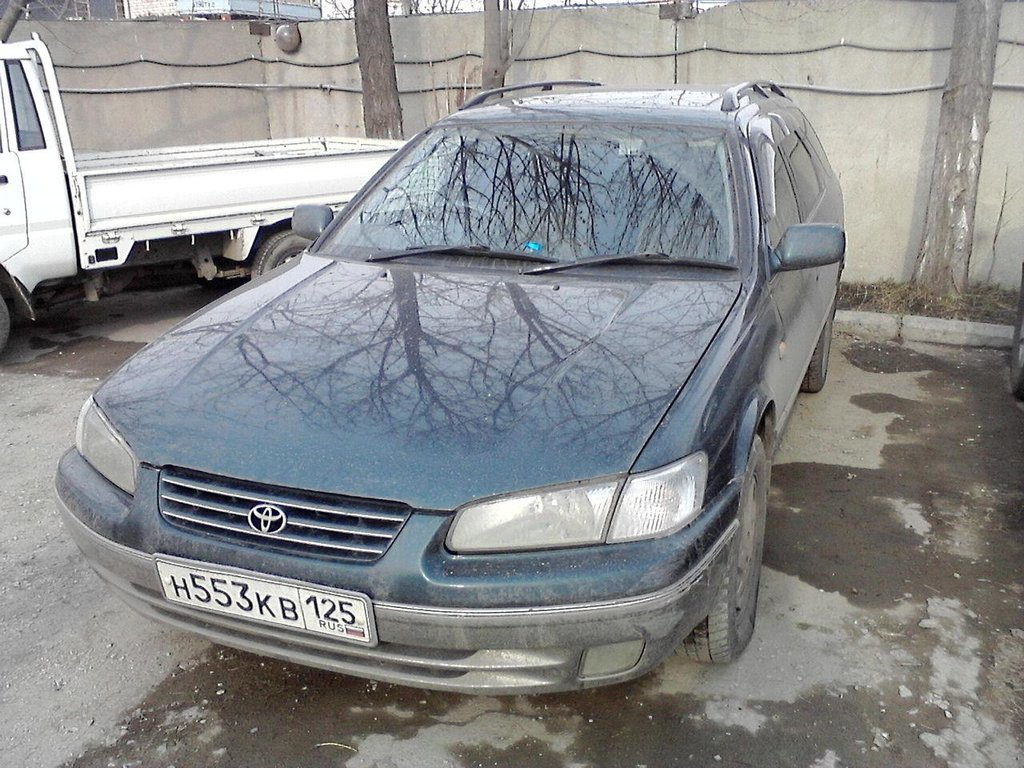 Машина во Владике перед отправкой.