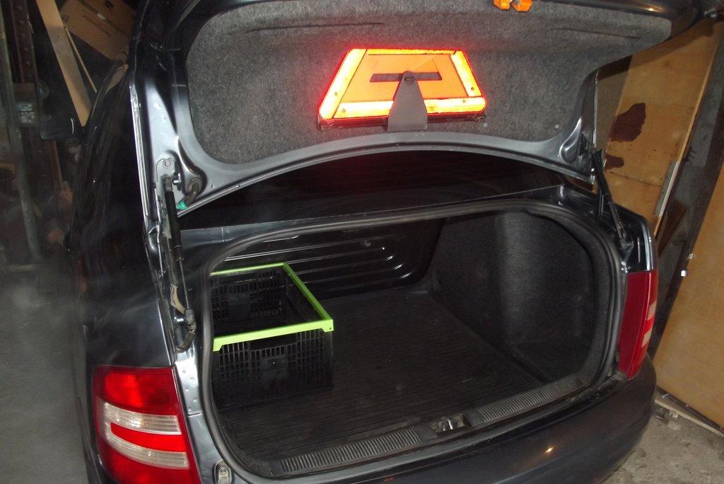 багажник в Фабии