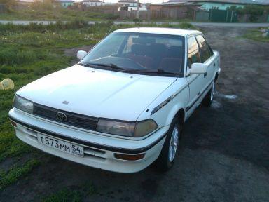 Toyota Corolla, 1988