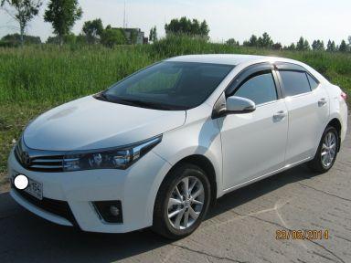 Toyota Corolla 2013 отзыв автора | Дата публикации 02.11.2014.
