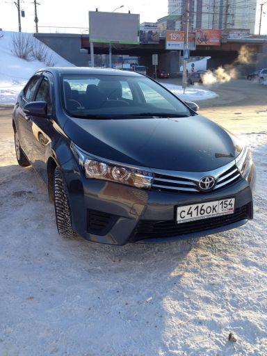 Toyota Corolla 2013 отзыв автора | Дата публикации 02.04.2015.