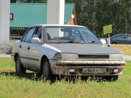Toyota Corolla 1988 - отзыв владельца