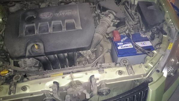 Toyota Corolla Axio 2006 - отзыв владельца