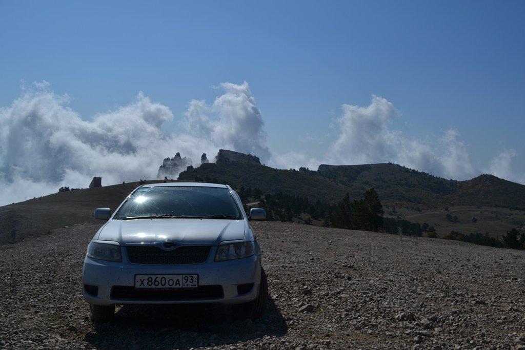 На вершине горы Ай-Петри ,Крым,1234 метра над уровнем моря.