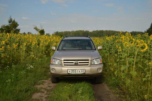 Toyota Highlander 2004 - отзыв владельца