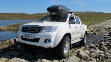 Toyota Hilux Pick Up, 2013
