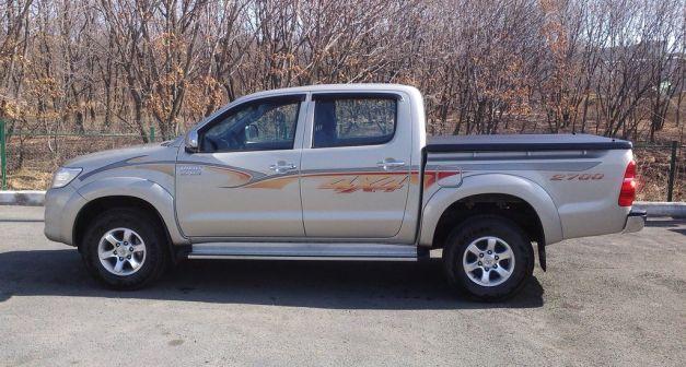 Toyota Hilux Pick Up 2013 - отзыв владельца