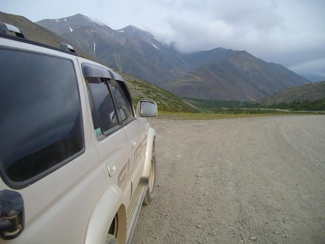 На перевале Гусакова. Трасса Палатка-Кулу-Нексикан.