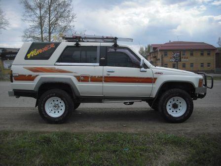 Toyota Hilux Surf 1988 - отзыв владельца