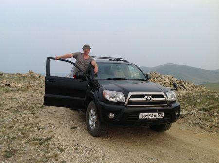 Toyota Hilux Surf 2009 - отзыв владельца