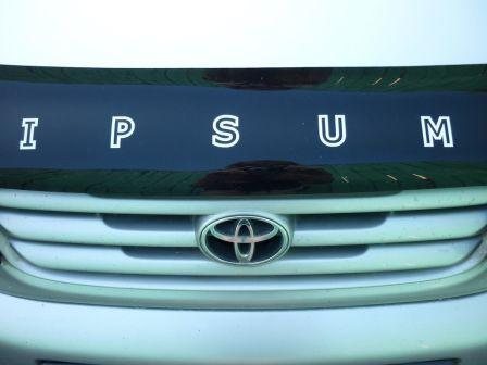 Toyota Ipsum 1997 - отзыв владельца