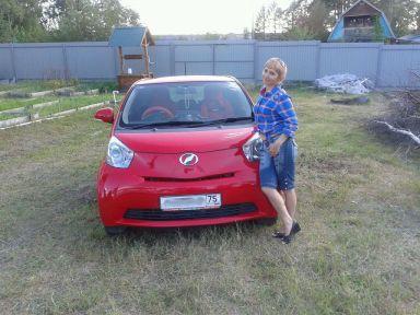Toyota iQ 2009 отзыв автора | Дата публикации 10.12.2014.