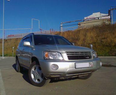 Toyota Kluger V, 2003