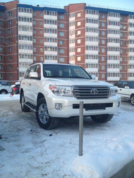Toyota Land Cruiser 2013 - отзыв владельца