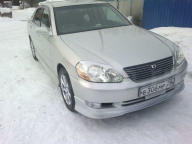Toyota Mark II, 2002