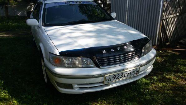 Toyota Mark II Wagon Qualis 1998 - отзыв владельца