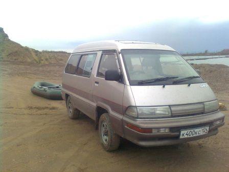 Toyota Master Ace Surf 1991 - отзыв владельца