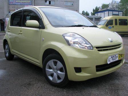 Toyota Passo 2008 - отзыв владельца