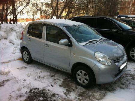 Toyota Passo 2010 - отзыв владельца
