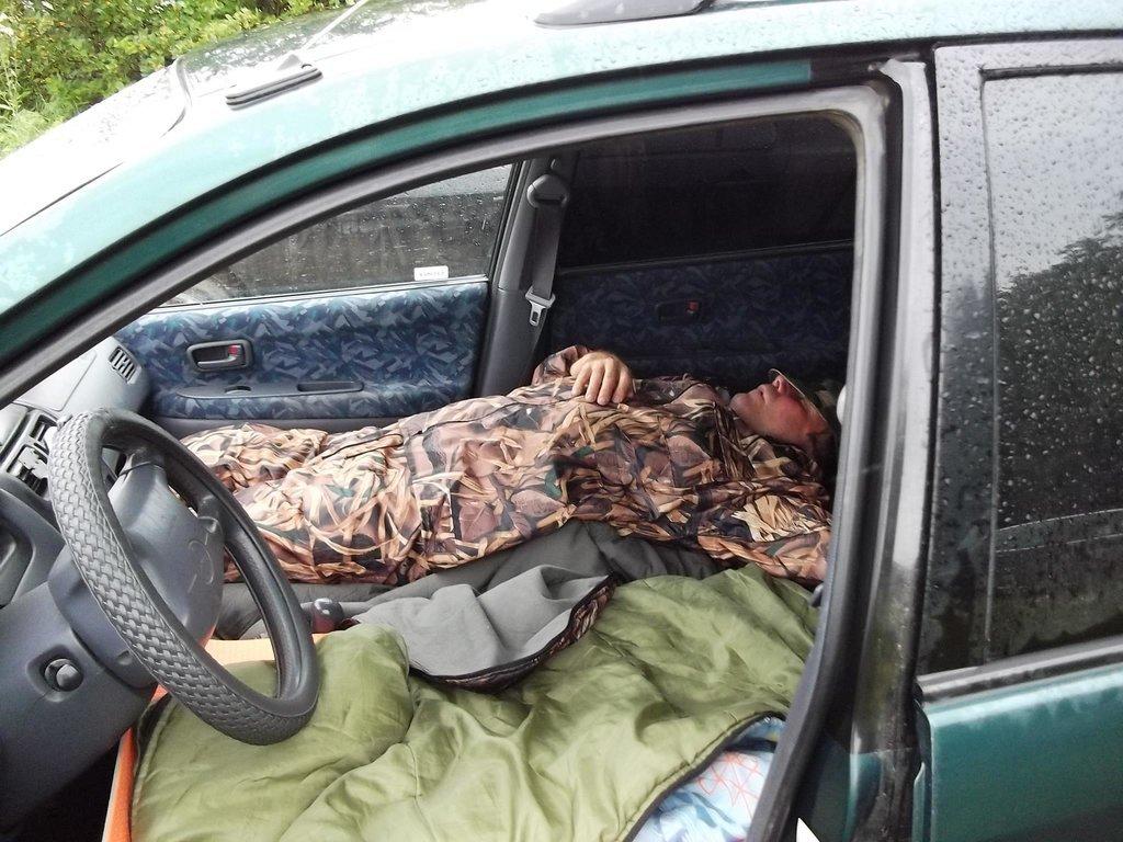 Охота-дело нелегкое:)) от нее надо отдыхать как следует:))) август 2013 года, Краснозерский район НСО.