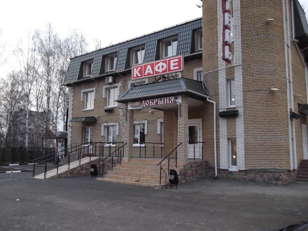 А это сам отель (или мотель, уже не помню, как он назывался точно).