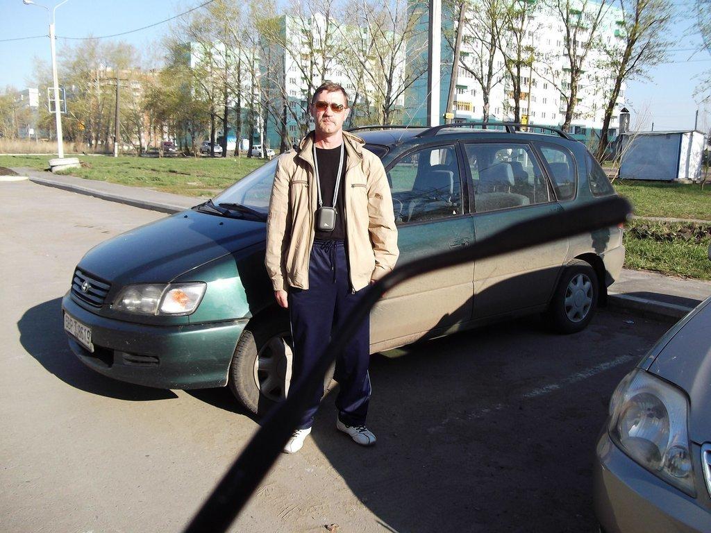 Утро 7 мая 2011 года. Прибытие в Омск.