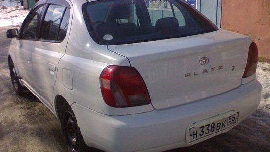 Toyota Platz 2002 - отзыв владельца