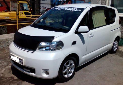 Toyota Porte 2008 - отзыв владельца