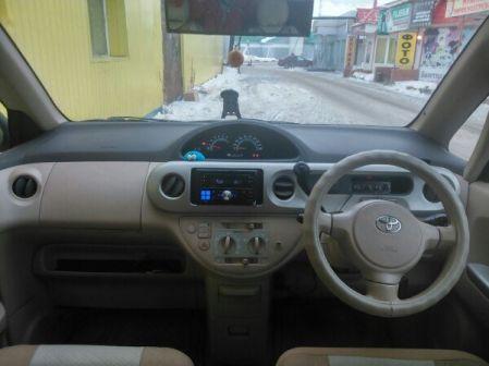 Toyota Porte 2005 - отзыв владельца