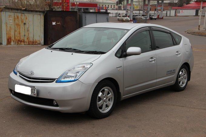 Тойота Приус технические характеристики. Toyota Prius ...