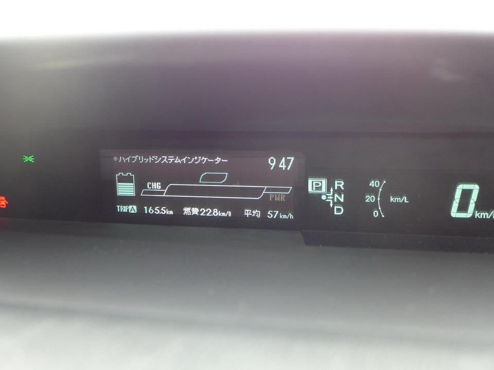 Фото в первый день владения машиной. Приехал домой (а живу я за городом), средний расход 22.8 км на литре (4.4 л на сотню). Счастье, радость, эйфория :) Потом наступила суровая реальность и фактический расход около 6 литров на сотню.