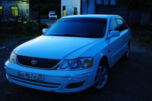 Toyota Pronard 2001 - отзыв владельца