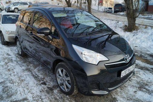 Toyota Ractis 2011 - отзыв владельца