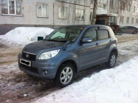 Toyota Rush 2011 - отзыв владельца