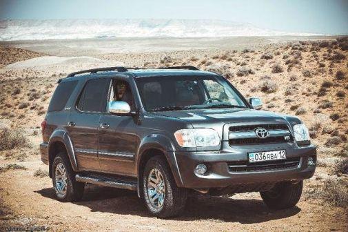 Toyota Sequoia 2007 - отзыв владельца