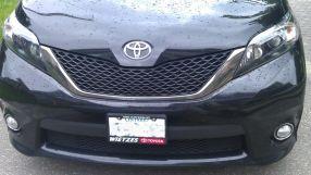 Toyota Sienna, 2011