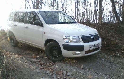Toyota Succeed 2006 - отзыв владельца