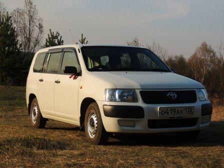 Toyota Succeed 2009 - отзыв владельца