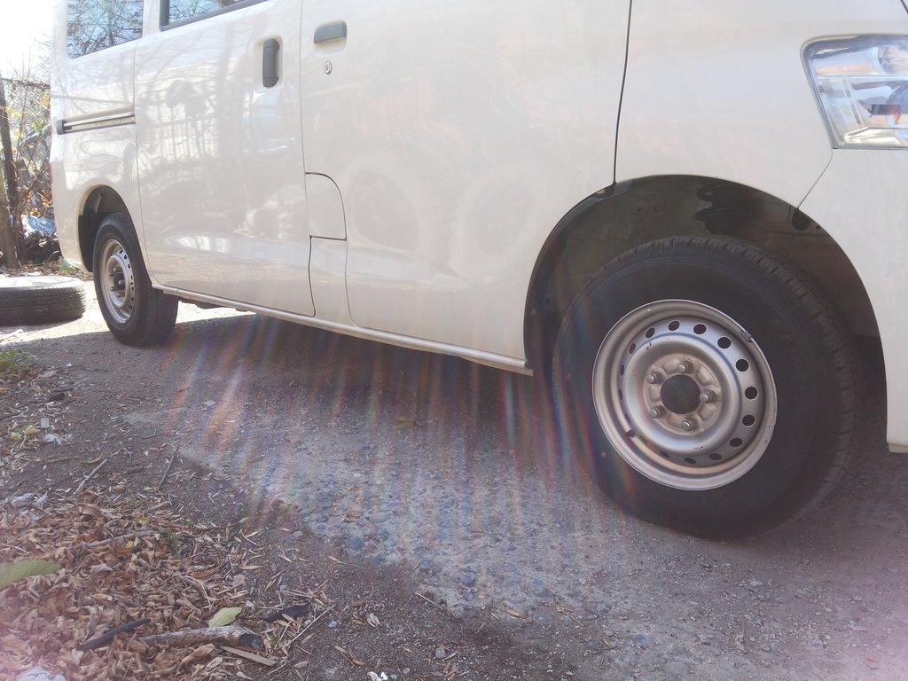 На родных колёсах 165R13 LT