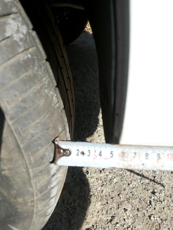 Арка заднего колеса с колёсами 195/65-15