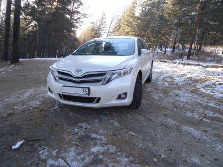 Toyota Venza 2013 - отзыв владельца